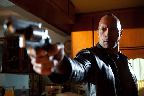 Dwayne Johnson Faster movie image