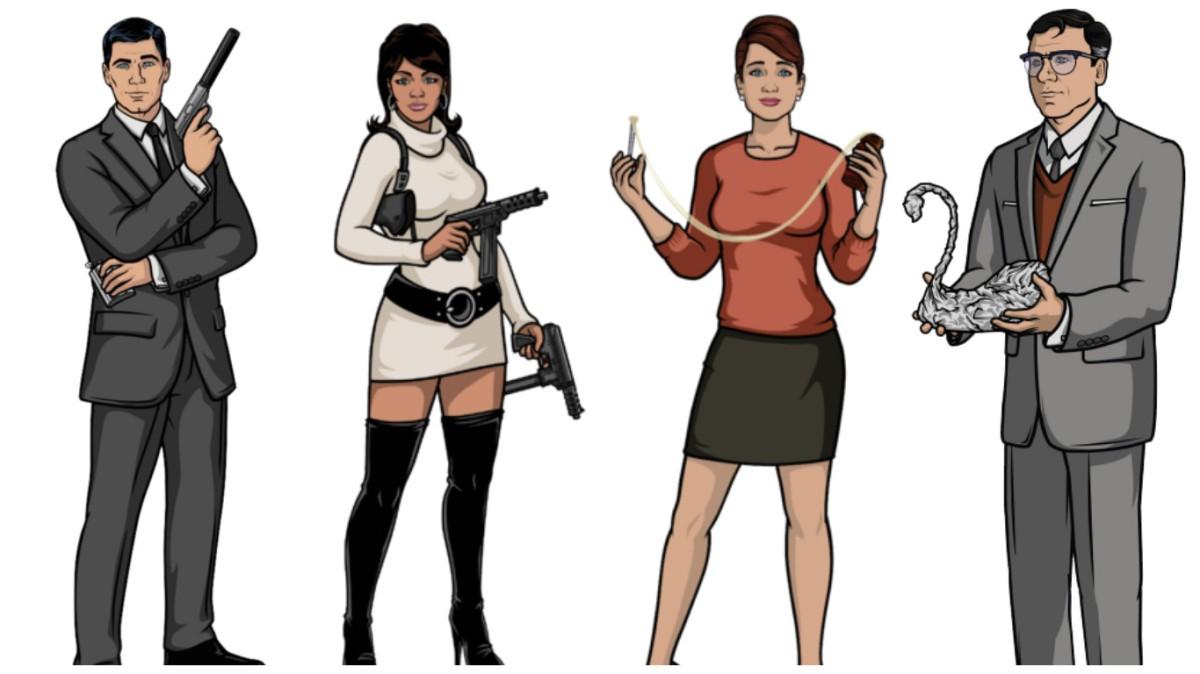 Fan Cast - Archer: The Movie