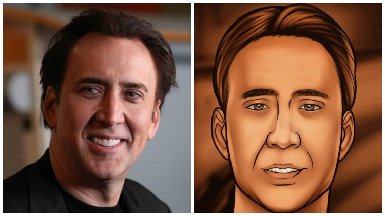 Nic Cage Archer