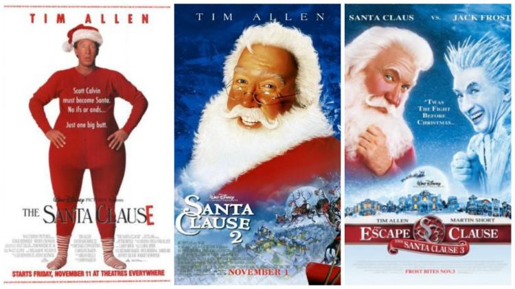 santa clause trilogy
