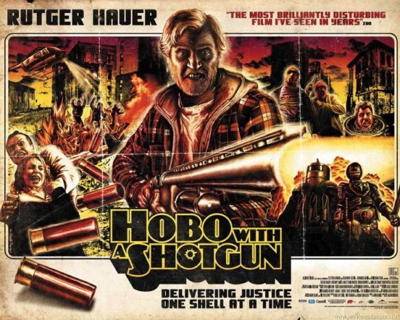 Image result for hobo with a shotgun